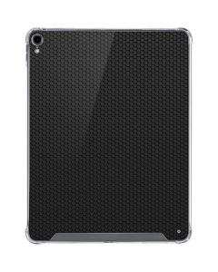 Black Hex iPad Pro 12.9in (2018-19) Clear Case