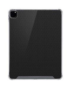 Black Hex iPad Pro 12.9in (2020) Clear Case