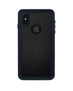 Black Hex iPhone XS Waterproof Case