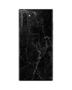 Black Marble Galaxy Note 10 Plus Skin