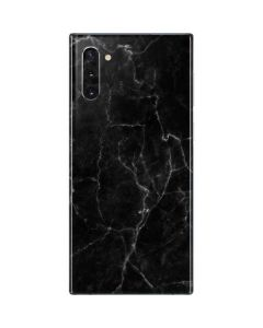 Black Marble Galaxy Note 10 Skin