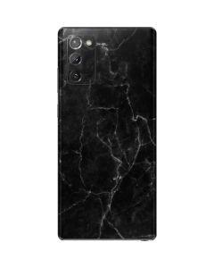 Black Marble Galaxy Note20 5G Skin