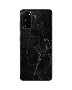 Black Marble Galaxy S20 Skin