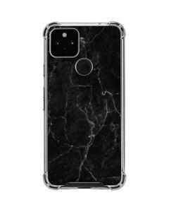 Black Marble Google Pixel 4a 5G Clear Case