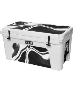 Black Marble Ink YETI Tundra 75 Hard Cooler Skin
