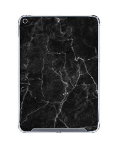 Black Marble iPad 10.2in (2019-20) Clear Case