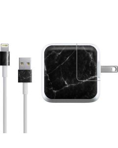 Black Marble iPad Charger (10W USB) Skin