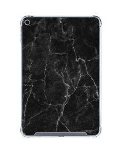 Black Marble iPad Mini 5 (2019) Clear Case