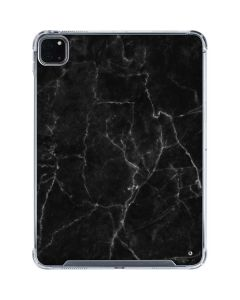 Black Marble iPad Pro 11in (2020) Clear Case