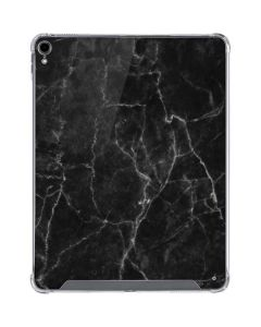 Black Marble iPad Pro 12.9in (2018-19) Clear Case