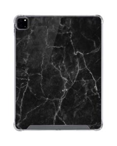 Black Marble iPad Pro 12.9in (2020) Clear Case