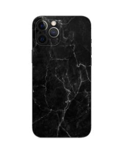 Black Marble iPhone 12 Pro Max Skin