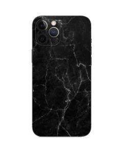 Black Marble iPhone 12 Pro Skin