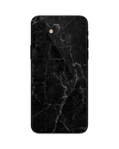 Black Marble iPhone 12 Skin
