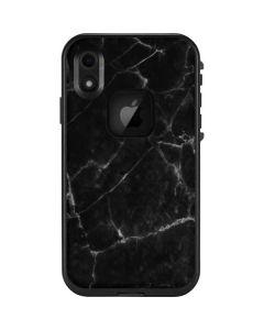 Black Marble LifeProof Fre iPhone Skin