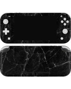 Black Marble Nintendo Switch Lite Skin