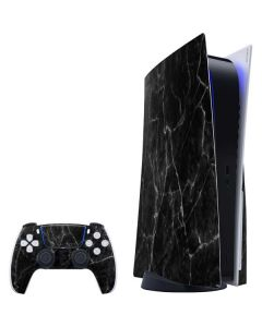 Black Marble PS5 Bundle Skin