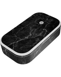 Black Marble UV Phone Sanitizer and Wireless Charger Skin