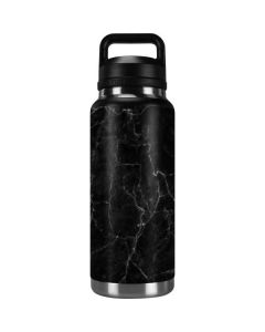 Black Marble YETI Rambler 36oz Bottle Skin
