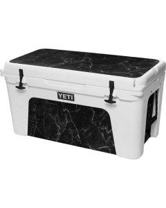 Black Marble YETI Tundra 75 Hard Cooler Skin