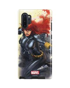 Black Widow in Action Galaxy Note 10 Plus Pro Case