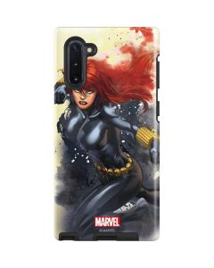 Black Widow in Action Galaxy Note 10 Pro Case