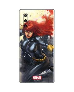 Black Widow in Action Galaxy Note 10 Skin
