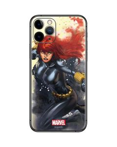Black Widow in Action iPhone 11 Pro Skin