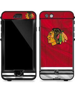 Blackhawks Red Stripes LifeProof Nuud iPhone Skin