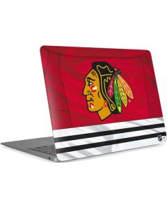 Blackhawks Red Stripes Apple MacBook Air Skin