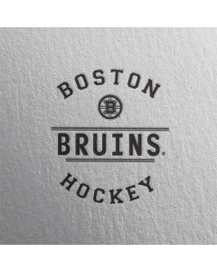 Boston Bruins Black Text Moto X4 Skin