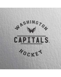 Washington Capitals Black Text iPhone 6/6s Skin