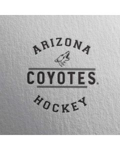 Arizona Coyotes Black Text iPhone 6/6s Skin