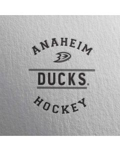 Anaheim Ducks Black Text Beats Solo 2 Wired Skin