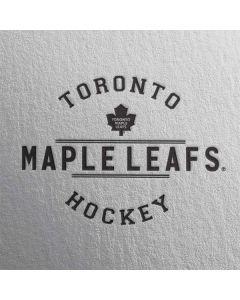 Toronto Maple Leafs Black Text Cochlear Nucleus 5 Sound Processor Skin