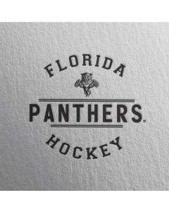 Florida Panthers Black Text Apple TV Skin