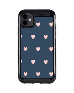 Blue and Pink Hearts iPhone 11 Cargo Case