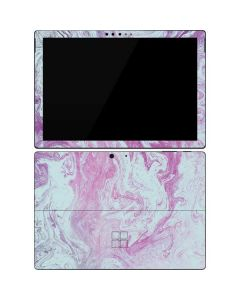 Blue and Purple Marble Surface Pro 7 Skin
