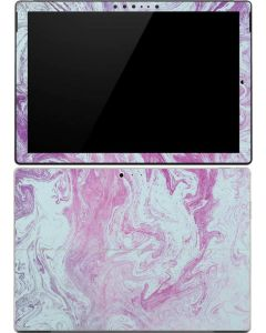Blue and Purple Marble Surface Pro (2017) Skin