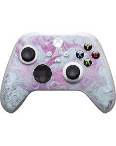 Blue and Purple Marble Xbox Series S Controller Skin