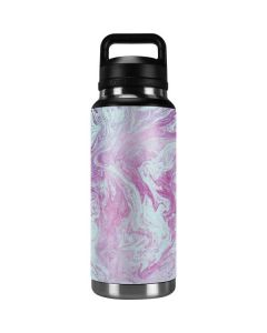Blue and Purple Marble YETI Rambler 36oz Bottle Skin