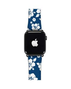 Blue and White Apple Watch Band 38-40mm