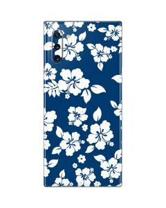 Blue and White Galaxy Note 10 Skin