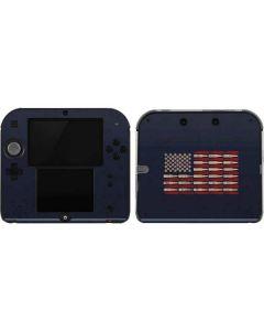 Blue Bullet American Flag 2DS Skin