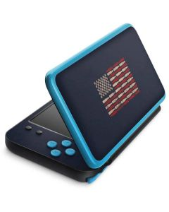 Blue Bullet American Flag 2DS XL (2017) Skin