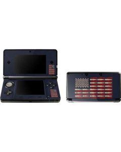 Blue Bullet American Flag 3DS (2011) Skin