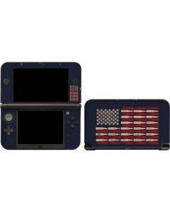 Blue Bullet American Flag 3DS XL 2015 Skin