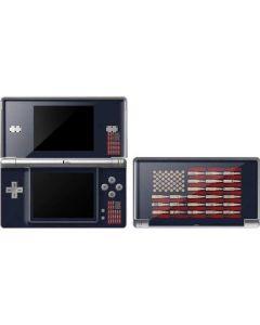 Blue Bullet American Flag DS Lite Skin
