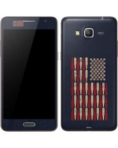 Blue Bullet American Flag Galaxy Grand Prime Skin