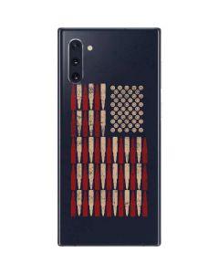 Blue Bullet American Flag Galaxy Note 10 Skin
